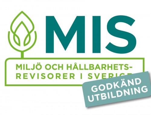 MIS-godkänd utbildning i internrevision